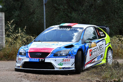 Marco Signor e Patrick Bernardi, Ford Focus WRC, Sama Racing