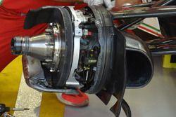 Ferrari SF16-H, i freni