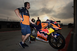 Bike of Bo Bendsneyder, Red Bull KTM Ajo