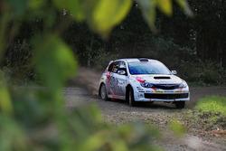 Mike Young, Malcolm Read, Subaru Impreza WRX, Cusco Racing