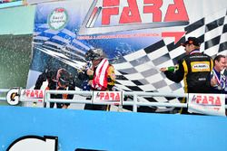 FARA Race of Champions FP1 podium