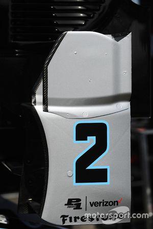 Bodywork for Juan Pablo Montoya, Team Penske Chevrolet