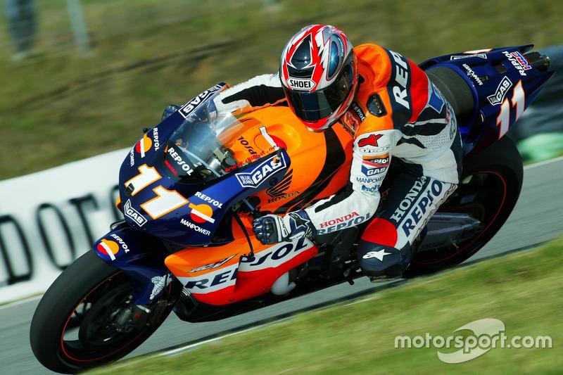Tohru Ukawa, Repsol Honda Team 2002