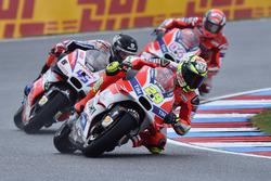 Andrea Iannone, Ducati Team; Scott Redding, Pramac Racing; Andrea Dovizioso, Ducati Team