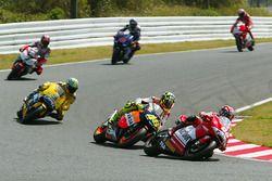 Loris Capirossi, Ducati Team, Valentino Rossi, Repsol Honda Team, Max Biaggi, Pramac Pons
