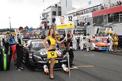 Grid girl of Daniel Juncadella, Mercedes-AMG Team HWA, Mercedes-AMG C63 DTM