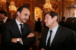 Nicolas Deschaux, President of french Motorsport fédération and Patrick Kanner, French Sports Minist