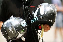 Шлем Нико Росберга, Mercedes AMG F1 Team
