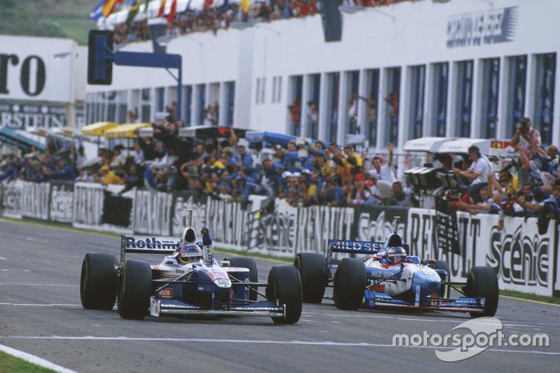 Jacques Villeneuve, Williams FW19 Renault con el Campeonato