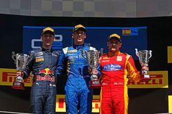 Alex Lynn, DAMS, Pierre Gasly, PREMA, Racing & Jordan King, Racing Engineering
