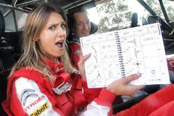 Kris Meeke, Citroën World Rally Team avec Diana Pereira