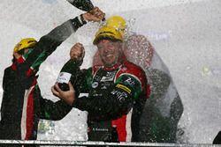 Podio LMP2: Ricardo González, #43 RGR Sport by Morand Oreca 05 - Nissan