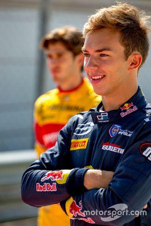 Pierre Gasly, PREMA Racing et Antonio Giovinazzi, PREMA Racing