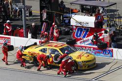 Ray Black Jr., Chevrolet, pit action