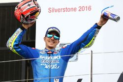 Podium : victoire pour Maverick Viñales, Team Suzuki MotoGP