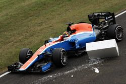 Ausfall: Pascal Wehrlein, Manor Racing MRT05