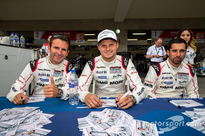 Porsche Team: Romain Dumas, Neel Jani, Marc Lieb