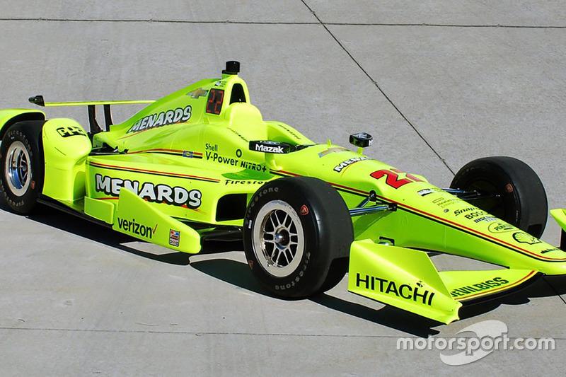 Team Penske new sponsor announcement