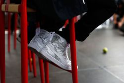 Lewis Hamilton, Mercedes AMG F1 Team shoe