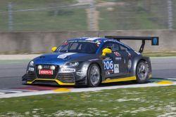 #206 LMS Engineering, Audi TTRS2: Peter Terting, Stefan Wieninger, Constantin Kletzer