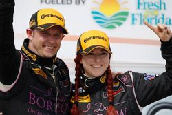 ST class winners Owen Trinkler, Sarah Cattaneo