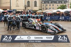 #84 SRT41 by Oak Racing, Morgan - Nissan: Frédéric Sausset, Christophe Tinseau, Jean-Bernard Bouvet