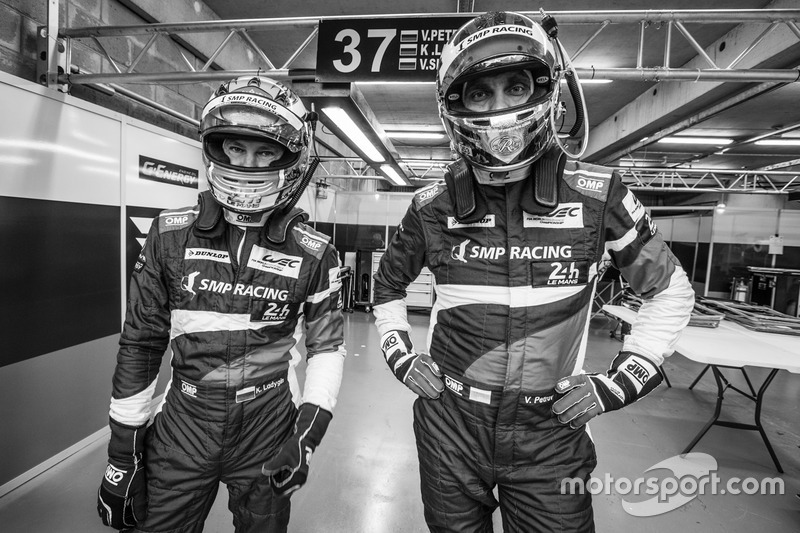 #37 SMP Racing BR01 Nissan: Kirill Ladygin and Vitaly Petrov