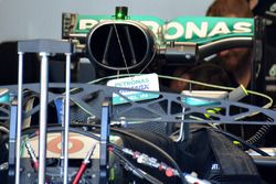 Mercedes AMG F1 garajda
