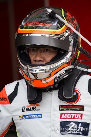 #58 Clearwater Racing Ferrari 458 Italia: Mok Weng Sun