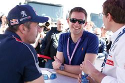 Sébastien Loeb, Team Peugeot Hansen, et Sébastien Ogier, Volkswagen Motorsport