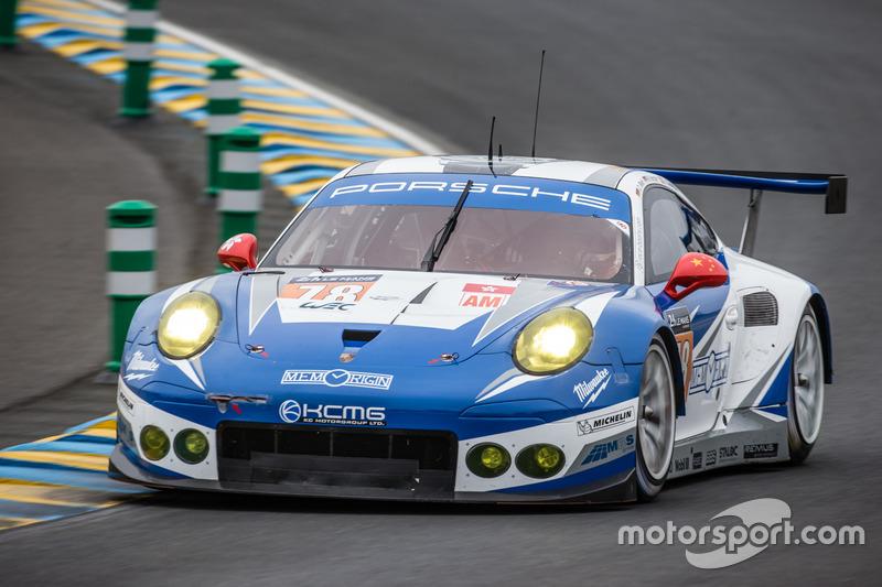 55: #78 KCMG Porsche 911 RSR: Christian Ried, Wolf Henzler, Joel Camathias