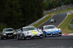 Aurel Schöller, Bandar Alesayi, Fidel Leib, Porsche Cayman GT4 Clubsport