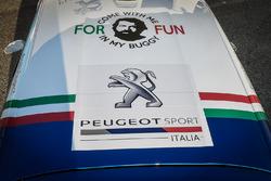 Paolo Andreucci e Anna Andreussi, Peugeot 208 T16, con Giuseppe Testa e Daniele Mangiarotti Peugeot 208 R2, Peugeot Sport Italia