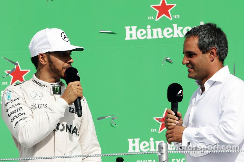 Lewis Hamilton, Mercedes AMG F1 ve Juan Pablo Montoya
