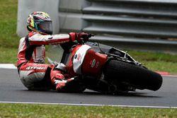 Chute de Ratthapark Wilairot, Idemitsu Honda Team Asia