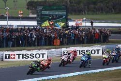 Пол Эспаргаро, Monster Yamaha Tech 3, Марк Маркес, Repsol Honda Team