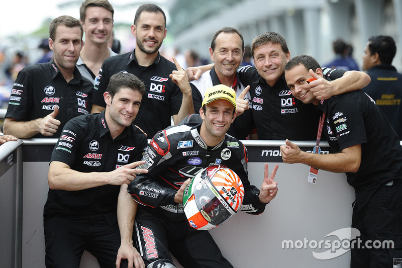 Ganador de la pole Johann Zarco, Ajo Motorsport