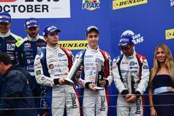 Podio: al terzo posto LMP3 #9 Graff Racing Ligier JS P3 - Nissan: Eric Trouillet, Paul Petit, Enzo G