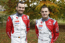 Quentin Gilbert, Renaud Jamoul, Citroën DS3 WRC, Abu Dhabi Total World Rally Team