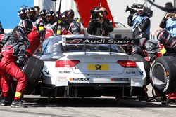 Pit stop Nico Müller (SUI) Audi Sport Team Abt Sportsline, Audi RS 5 DTM