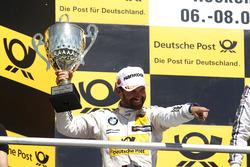 Podium: second place Timo Glock, BMW Team RMG, BMW M4 DTM
