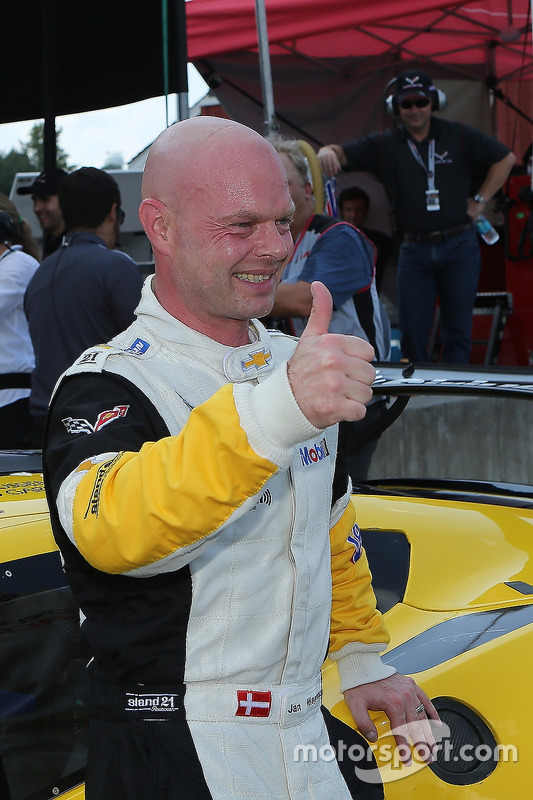 Polesitter Jan Magnussen, Corvette Racing