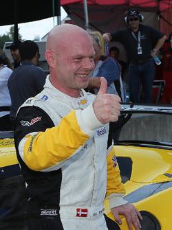 Polesitter Jan Magnussen, Corvette Racing