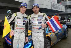 Race winners #12 TP12 Racing Team Ferrari 458 Italia GT3: Todd Piti, Carlo van Dam
