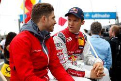 Edoardo Mortara, Audi Sport Team Abt Sportsline, Audi RS 5 DTM; Mattias Ekström, Audi Sport Team Abt