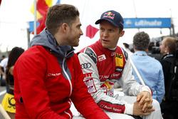 Edoardo Mortara, Audi Sport Team Abt Sportsline, Audi RS 5 DTM et Mattias Ekström, Audi Sport Team Abt Sportsline, Audi A5 DTM