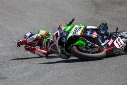 Saeed Al Sulaiti, Pedercini Racing choca en el corksrew