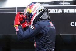 Yarış galibi Pierre Gasly, Prema Racing, parc ferme