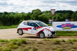 Александр Кудрявцев и Анна Завершинская, Peugeot 208 R2