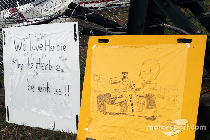 Banners for Herbie Blash, FIA Delegate